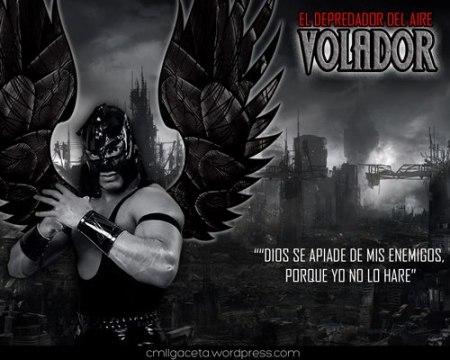 CMLL VOLADOR JR EL DEPREDOR DEL AIRE